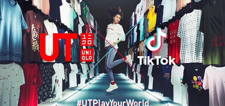 Uniqlo Teams up with TikTok for First User-Generated Social Media Campaign