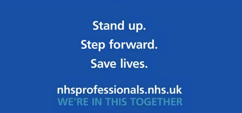 Digital Voices Partners With NHS on Stand Up, Step Forward Campaign