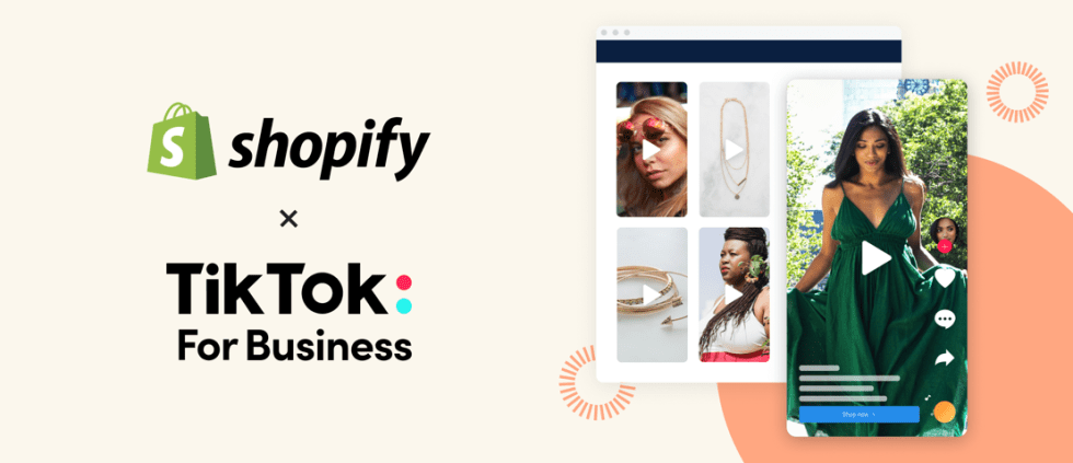 shopify x tiktok commerce